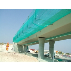 Redes de seguridad para protección de puentes y viaductos